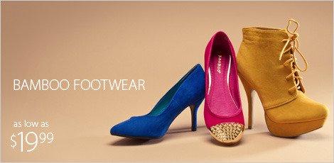 Luxury Bamboo Footwear Dwp Vegas