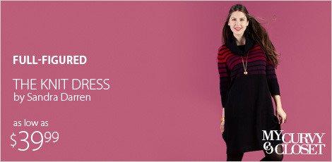 The Knit Dress By Sandra Darren
