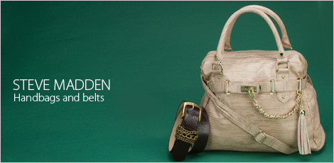 Steve Madden Handbags And Belts