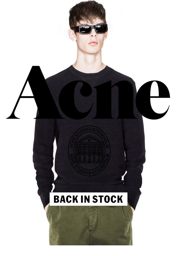 Acne Studios College Terry