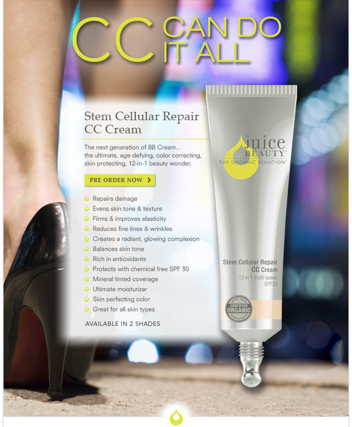 CC Can Do It ALL - PRE-ORDER TODAY! - juicebeauty.com/cc