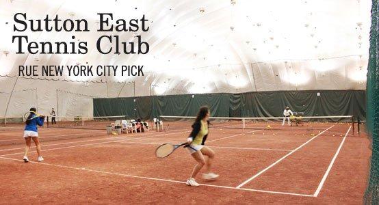 Sutton East Tennis Club: Rue New York City Pick