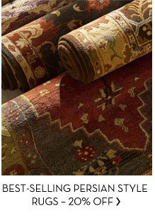 BEST-SELLING PERSIAN STYLE RUGS - 20% OFF
