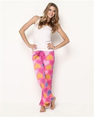 PJNY Fuzzy Heart Pants $15