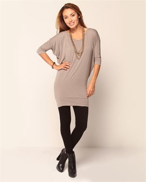 Onno Mushki Solid Tunic- Made in USA $49