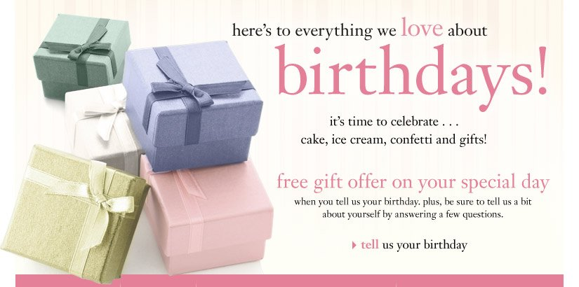 here's to everything we love about birthdays!...