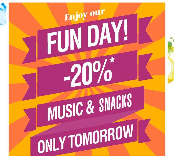 Fun day! -20%