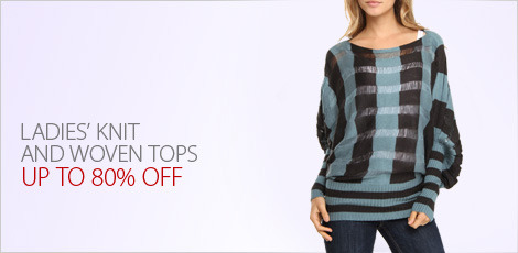 Ladies' Knit and woven tops