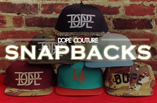 Dope Couture Snapback Sale