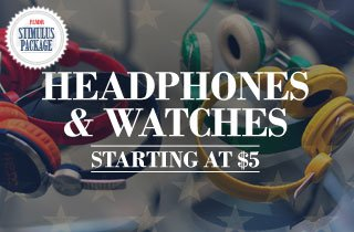 Headphones and Watches