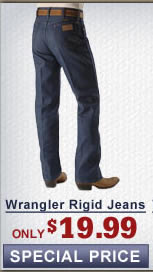 Wrangler rigid mens jeans