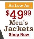 49.99 mens jackets
