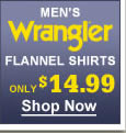 Wrangler flannel shirts