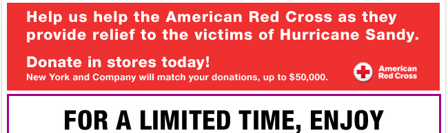 Help Us Help the American Red Cross. DONATE TODAY!