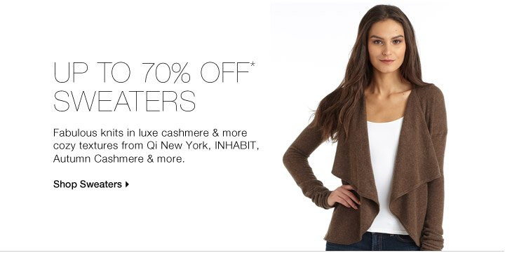 Sweaters: Cashmere & more