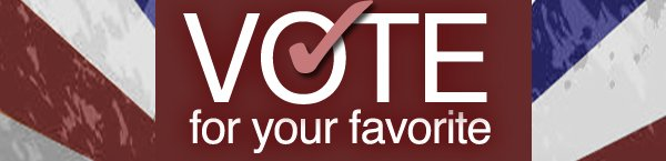 VOTE for your favorite
