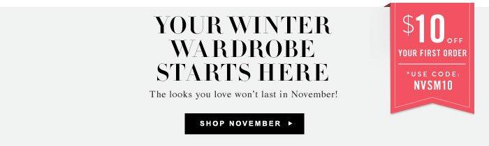 Your Winter Wardrobe Starts Here