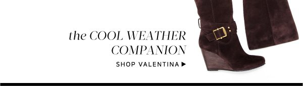 Cool Weather Companion. Shop Valentina