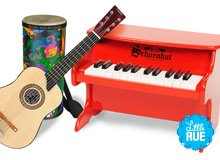 Make Some Music Instruments for Mini Musicians