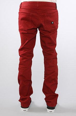 The K Slim Jeans in Red