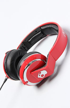 The Mix Master Headphones with Mic in Red