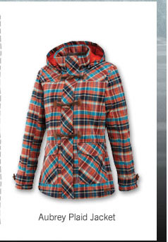Aubrey Plaid Jacket