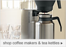 shop coffee makers & teakettles
