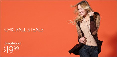 Chic Fall Steals