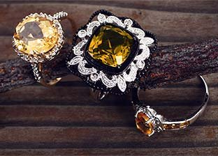 November Birthstones: Topaz & Citrine Jewelry