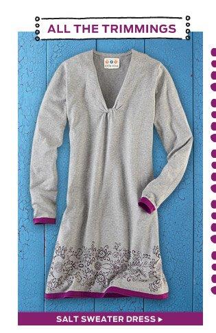 Salt Sweater Dress >