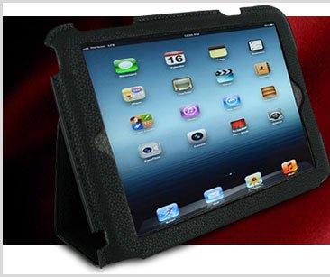 rooCASE Ultra Slim Vegan Leather Case for Apple iPad mini