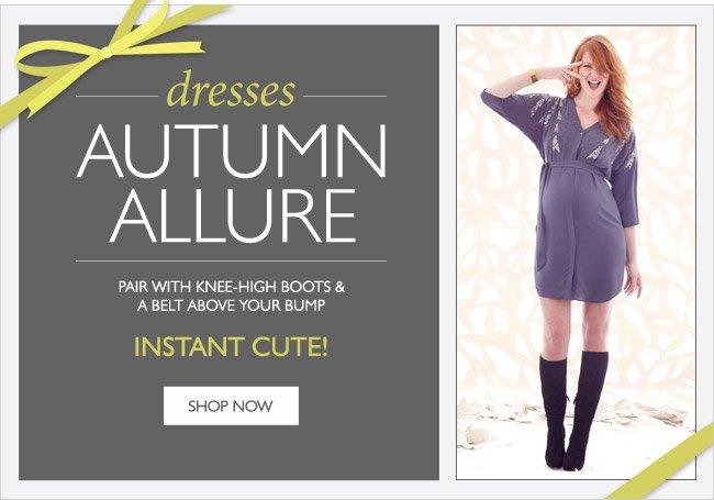 Dresses - Autumn Allure