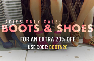 Ladies Only Sale: Boots & Shoes