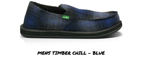 Mens Timber Chill - Blue