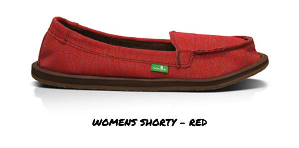 Womens Shorty - Red