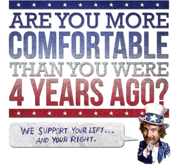 Are you more comfortable than you were 5 years ago?