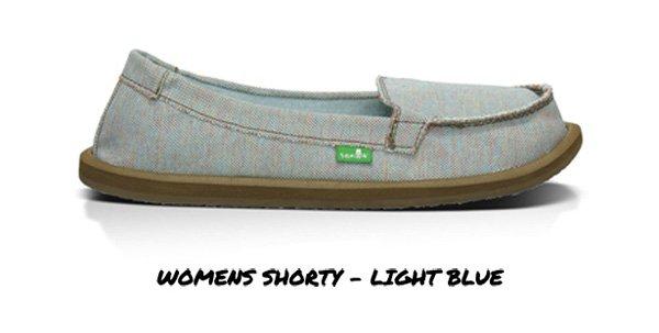 Womens Shorty - Light Blue