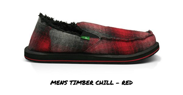 Mens Timber Chill - Red