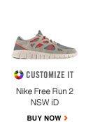 CUSTOMIZE IT | Nike Free Run 2 NSW iD | BUY NOW