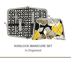 Kisslock Manicure Set in Dogwood