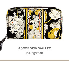 Accordion Wallet in Dogwood