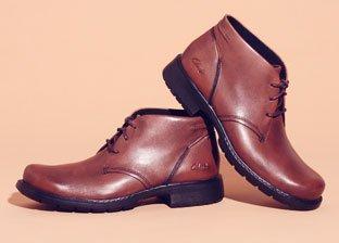 Dress to Impress: Clark's Men's Shoes & more