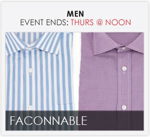 FACONNABLE - Men's Furnishings