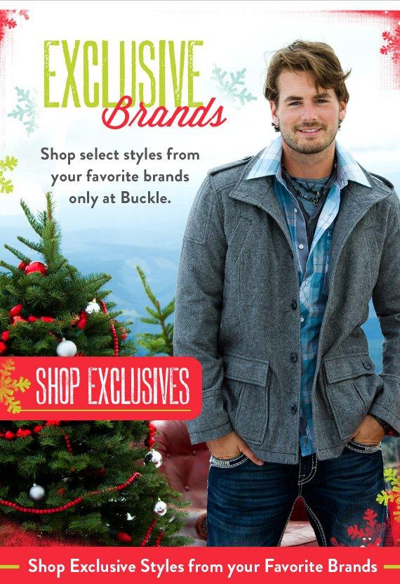 Shop Exclusives Brands