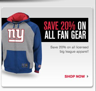 Fan Gear Sale