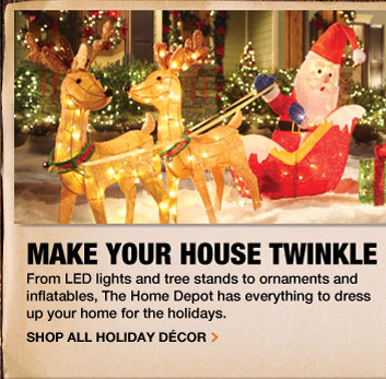 Make your house twinkle