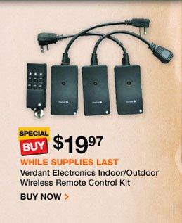Indoor Outdoor Wireless Remote