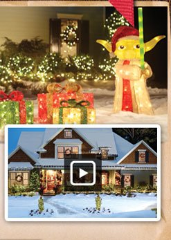Learn how to make your house twinkle