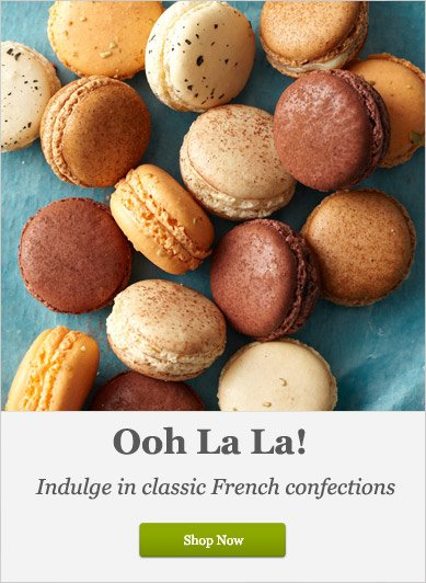 Indulge in classic French Confections - Shop Now