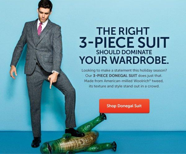 3-Piece Donegal Suit